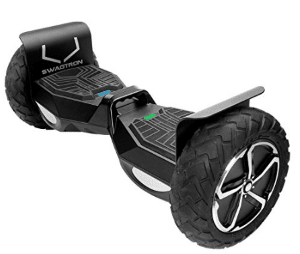 "SWAGTRON T6 Off-Road Hoverboard - First in the World to Handle Over 380 LBS, Up to 12 MPH, UL2272 Certified, 10"" Wheel"