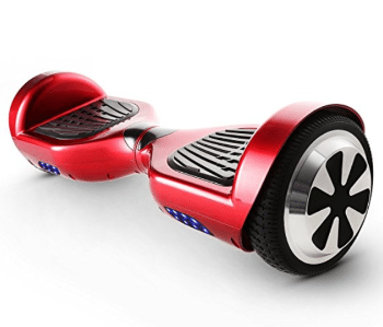 Cocheer 2 Wheel Self Balancing Scooter - Red + Black