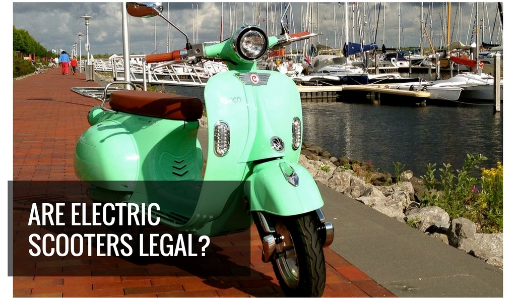 Are Electric Scooters Legal? - Featured Image