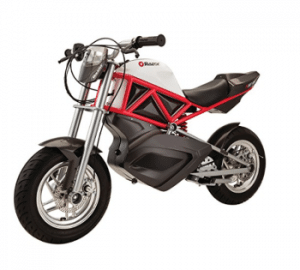 Razor RSF650 Electric Street Bike - Red, Black & White