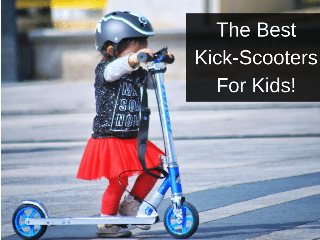 Child on Kick Scooter