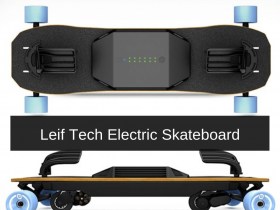 Leif Tech Electric Skateboard Review
