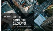 Cost of Commuting Calculator