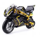 MotoTec 500w Electric Super Pocket Mini Bike