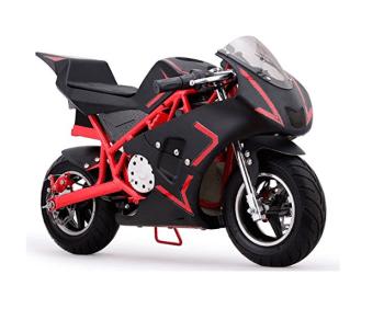 MotoTec Cali 36v Electric Pocket Bike Review